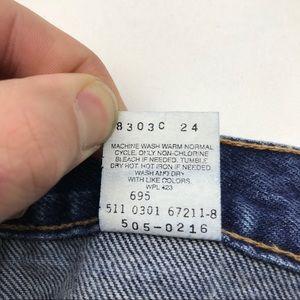 Levi's Jeans - Vintage Levi's 505 High Waist Jeans 33 Re/Done